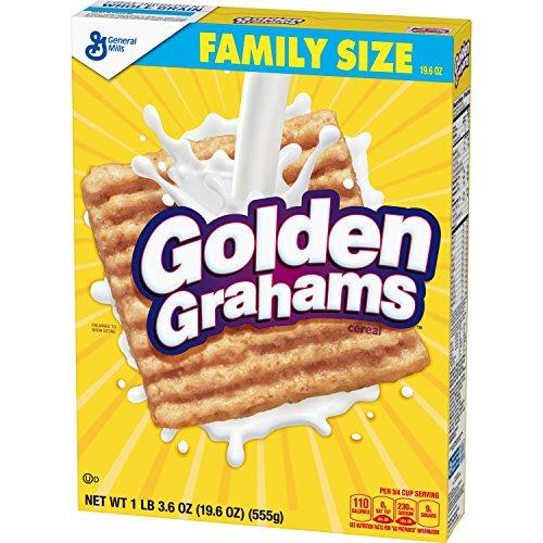 (Golden Grahams Family Size, 19.6 Ounce (Pack of 8))