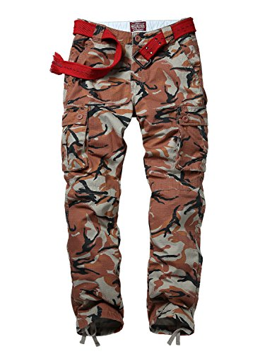 Match Men's Casual Cargo Pants Outdoors Work Wear(34, 6034 Max)