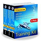 img - for Windows Server 2008 Server Administrator Training Kit 3-Pack Exams 70-640, 70-642, 70-646 (MCITP) (Microsoft Press Training Kit) 1st edition by Holme, Dan, Ruest, Nelson, Ruest, Danielle, Northrup, Tony, (2011) Paperback book / textbook / text book