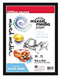 Office Depot Multimedia Artist Sketch Book, 9in. x 12in, White, 40 Sheets, 194000-11980