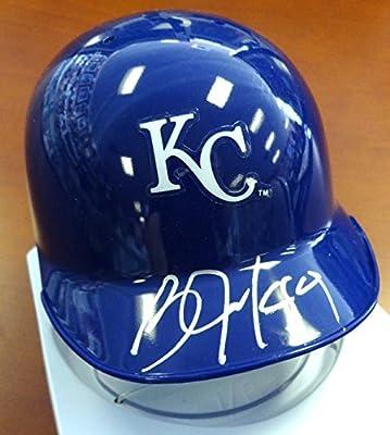 Bo Jackson Autographed Kansas City Royals Mini Helmet Psa/dna Stock #89149