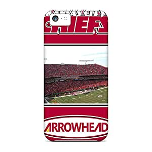 Hot Snap-on Kansas City Chiefs Hard Covers Cases/ Protective Cases For Iphone 5c
