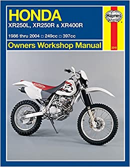 free honda xr350r service manual