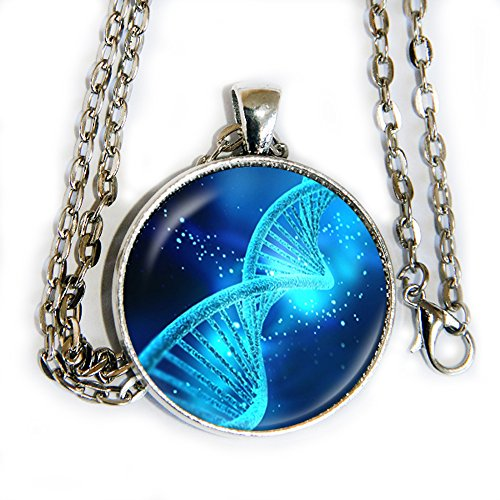 DNA Double Helix - pendant necklace - HM (X Men Mystique Halloween Costume)