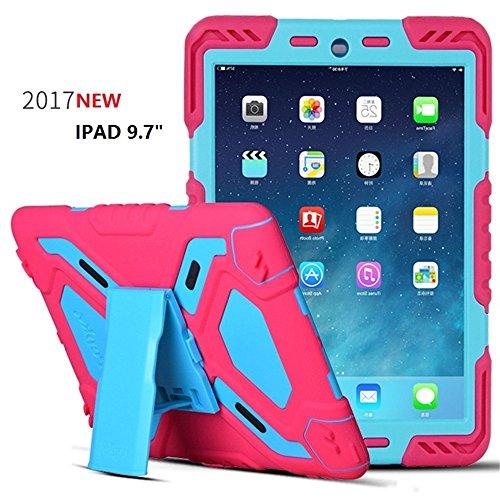 New iPad 2017 Case for Kids,Y&M Shock/Drop/Dust Proof Heavy