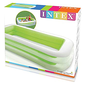 "Intex Swim Center Family Inflatable Pool, 103"" X 69"" X 22"", For Ages 6+ 2"
