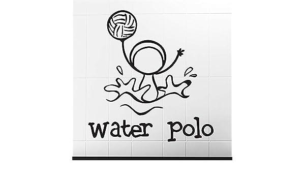 yiyiyaya Uno de los Polos acuáticos Deportivos Imagen Graciosa ...