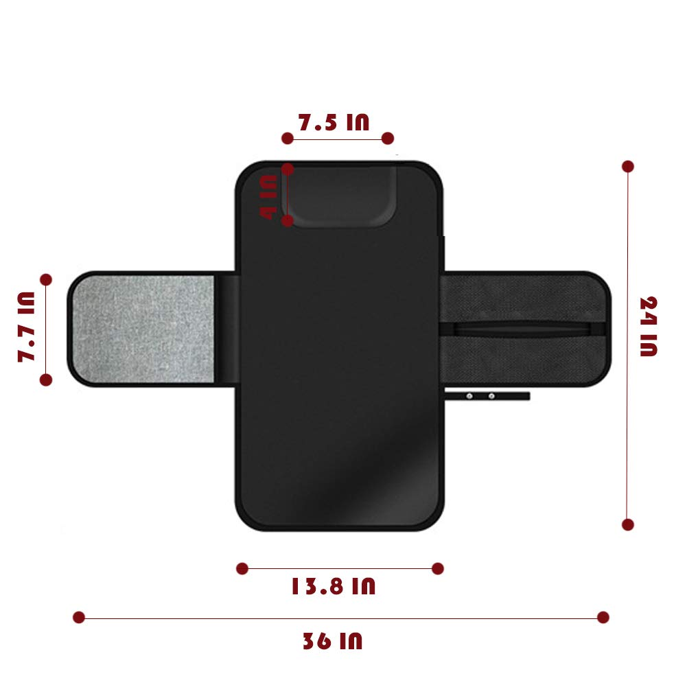 VDROL Matelas /à langer portable matelass/é avec oreiller int/égr/é VDROL Matelas /à Langer de Voyage Imperm/éable pour Langer B/éb/é
