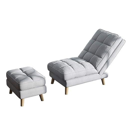 EGCLJ Sillón Sofá Lounge - Cama Plegable Sencilla De Tatami ...