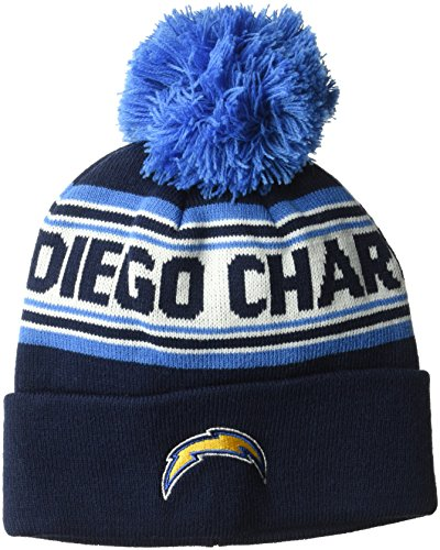 NFL Youth Boys Jacquard Cuffed Knit Hat with Pom – DiZiSports Store