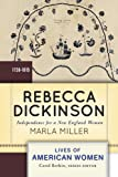 Rebecca Dickinson : My Part Alone, Miller, Marla, 0813347653
