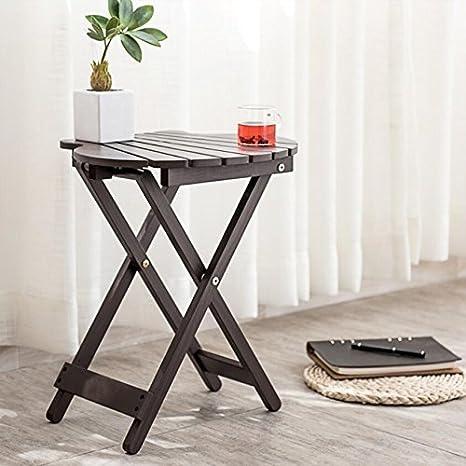 Amazon.com: Magshion - Mesa auxiliar de balcón plegable de ...