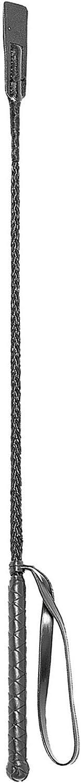Kerbl Fusta de equitación con matamoscas, Fibra de Vidrio, 65 cm, 32364