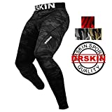 DRSKIN Men's Compression Dry Cool Sports Tights Pants Baselayer Running Leggings Yoga