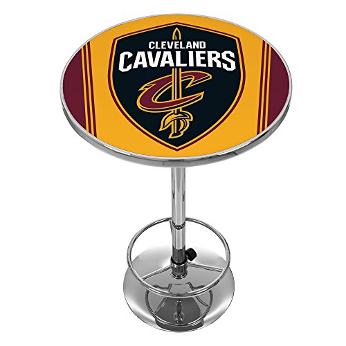NBA Cleveland Cavaliers Chrome Pub Table by Trademark Gameroom
