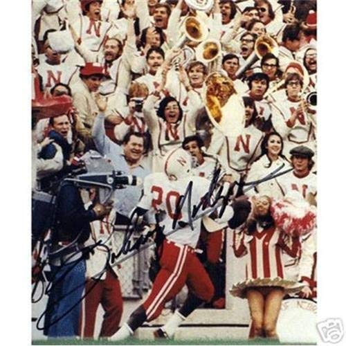 Johnny Rodgers Photograph - Johnny Rodgers Autographed Signed Auto Nebraska Huskers TD Run 8x10 Photograph - Certified Authentic