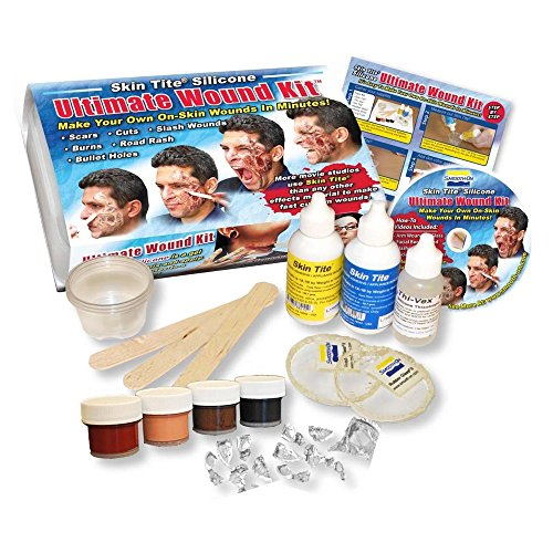 [Skin Tite Ultimate Wound Kit] (Special Effects Makeup Kit)