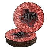 Texas A&M Football Leather Coaster