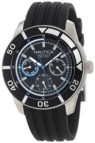 Nautica Men's N16623M NSR 08 Mid Classic Stainless Steel Watch