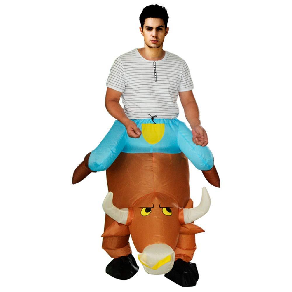 MIMI KING Aufblasbare Kostüme Bull Halloween Cosplay Kostüme Hosen Für Erwachsene Sprengen Kostüm