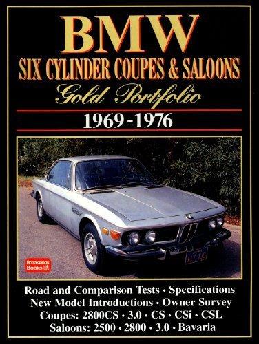 BMW Six Cylinder Coupes and Sedans (Gold Portfolio) by R.M. Clarke (1998-06-18)