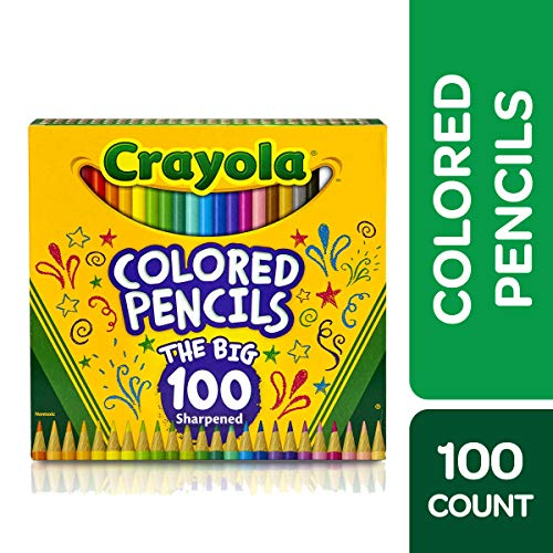Crayola Colored Pencils Adult Coloring Set