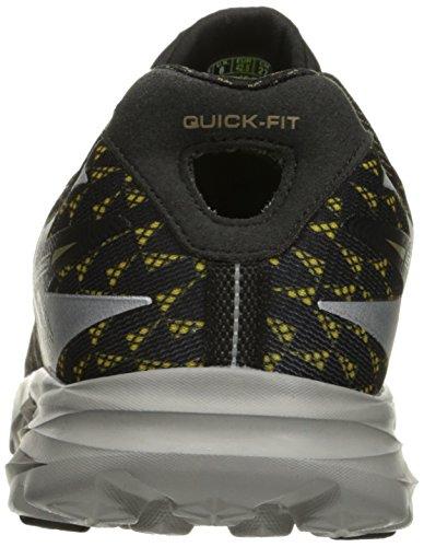 Skechers (SKEES) GO RUN RIDE 5 - Zapatillas de deporte para hombre, color negro, talla 28