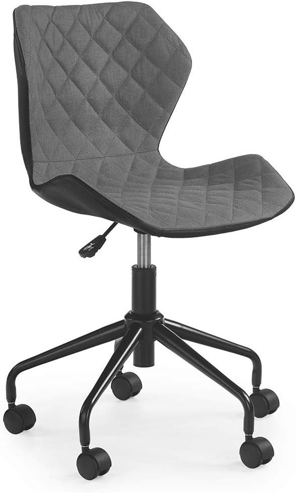 Modern Home Ripple Mid-Back Office Task Chair - Black/Gray