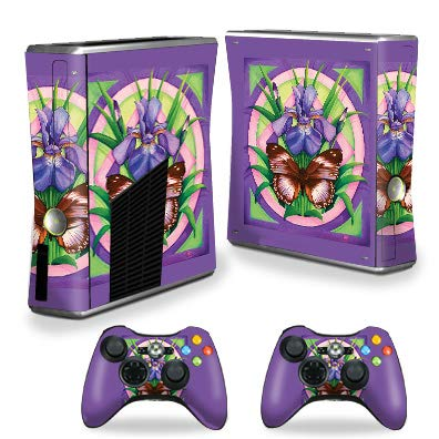 MightySkins Skin Compatible with Xbox 360 S Console - Rebirth | Protective, Durable, and Unique Vinyl Decal wrap Cover | Easy to Apply, Remove, and Change Styles | Made in The USA
