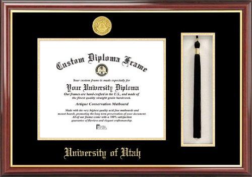 Campus Images University of Utah Tassel Box and Diploma -