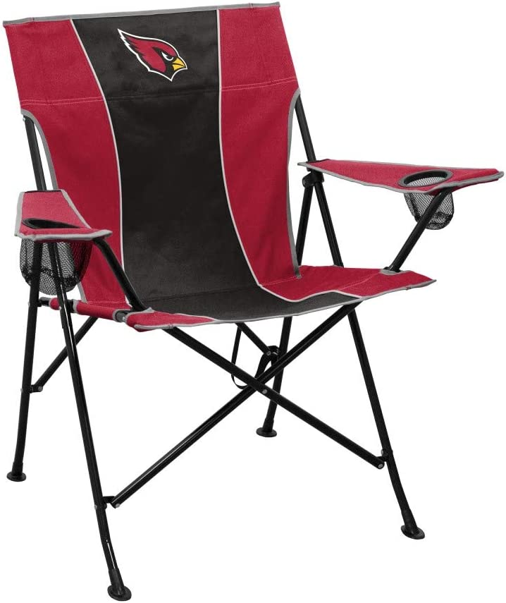 Logo Brands Officially Licensed NFL Unisex Pregame Chair, One Size, Team Color