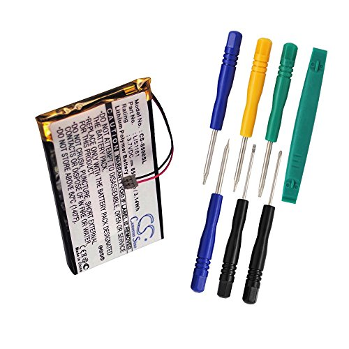 Cameron Sino 850mAh Battery for Sony Clie PEG-S300, Clie PEG-S320, Clie PEG-S360, Clie PEG-S500, Clie PEG-S500C with 7/pcs (Sony Pda Battery)