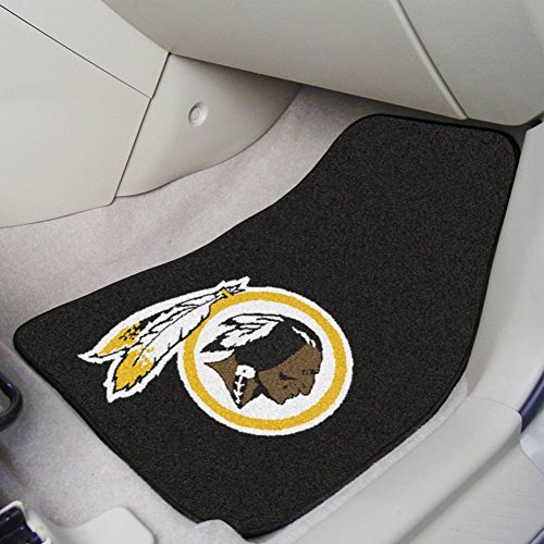 Fanmats NFL Washington Redskins 2-piece Carpeted Car Mats 18