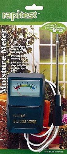 LUSTER LEAF 1820 RAPIDTEST Soil Plant Garden Moisture Sensor Meter Tester Test by Luster Leaf (Image #1)