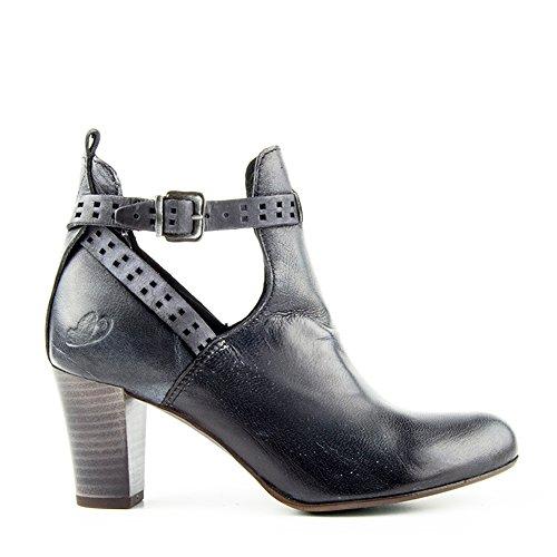 Felmini - Damen Schuhe - Verlieben Obidos 8771 - Stiefeletten - Echte Leder - Schwarz