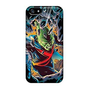 Apple Iphone 5/5s KMS208Fjne Customized Beautiful Martian Manhunter I4 Series Bumper Phone Cases -EricHowe