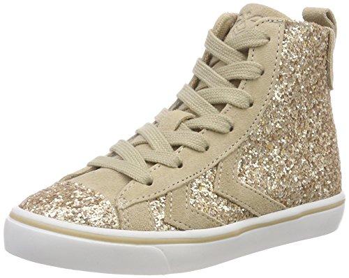 Hummel UnisexKinder Gold Strada Princess Jr Hohe Sneaker Gold UnisexKinder Nomad ... 9c112c