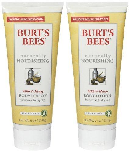 Burt's Bees Naturally Nourishing Milk & Honey Body Lotion 6
