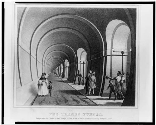 Photo Reprint The Thames Tunnel 1830