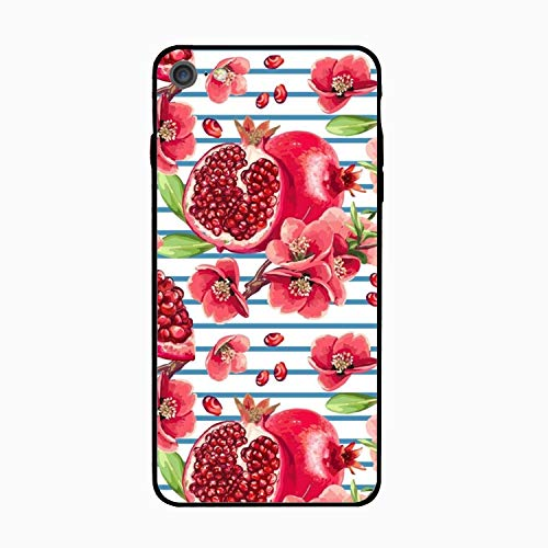 (iPhone 6S Case, Anti Shock Case for iPhone 6/ 6S [4.7 inch Display] - Fresh Pomegranate Floral)