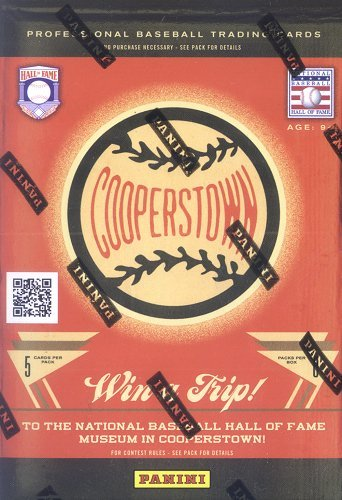 2012 Panini Cooperstown Baseball Trading Card Blaster Box (Cooperstown Memorabilia)