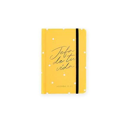 Agenda Diaria 19-20. Jefa Yellow. Mini: Amazon.es: Oficina y ...