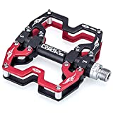 """Bike Pedal CNC Aluminum Body Cr-Mo Machined 9/16"""" Review and Comparison"""
