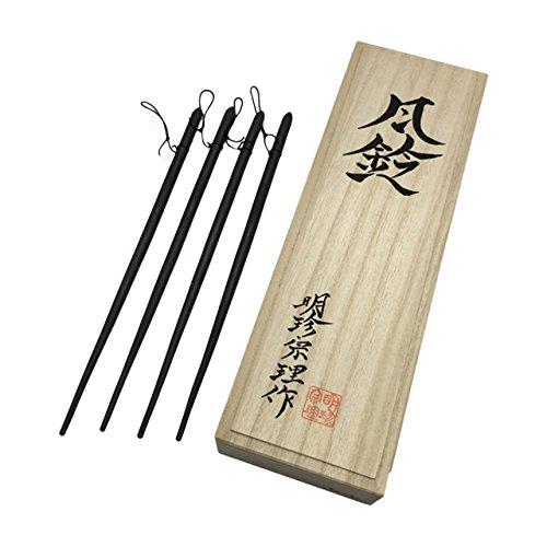 鉄製 火箸 風鈴 第52代明珍宗理 作 上上 木箱栞など 付属品完備 新品 B01ISVZGHO