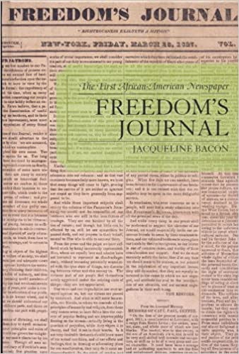 Amazon com: Freedom's Journal: The First African-American