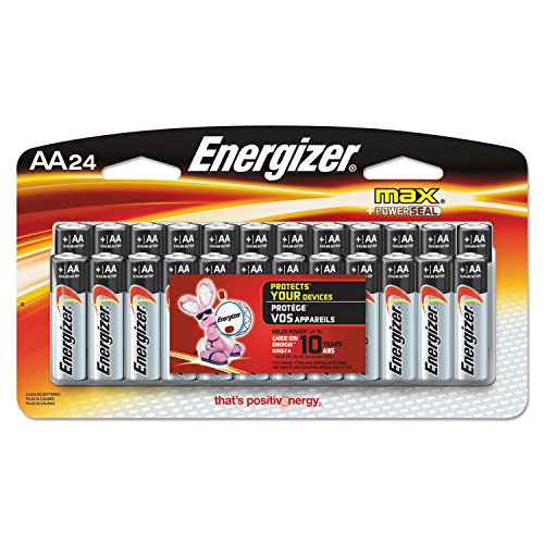 Eveready Alkaline Batteries, AA, 24 Batteries/Pack  Category