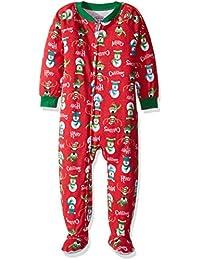 Unisex Kids Soft Footed Pajamas
