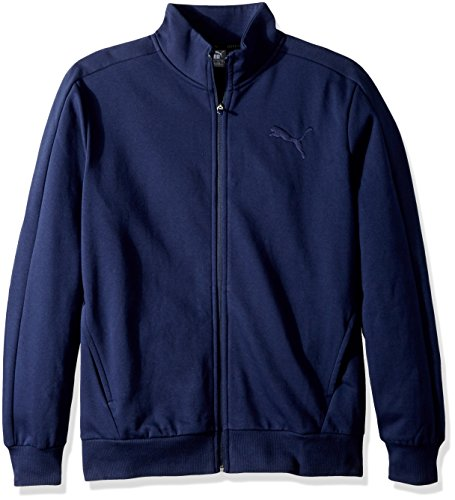PUMA Men's P48 Core Track Embroidered Jacket, Blue, S