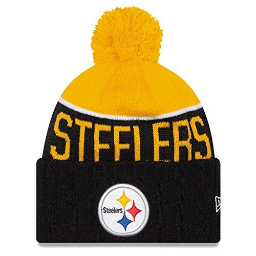07e21f71f Pittsburgh Steelers 2015 Sport Beanie Hat with POM POM - NFL Cuffed Winter  Knit Toque Cap
