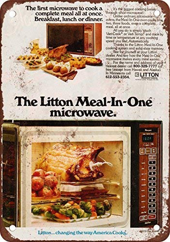 Amazon.com: NGFD 1972 Litton Horno de microondas, diseño ...